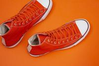 """Re: Der SAMMLER solo × TheThreeRobbers ARMY GYM SHOES HI ORANGE #3""ってこんなこと。 - THE THREE ROBBERS ってこんなこと。"