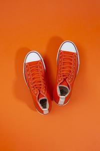 """Re: Der SAMMLER solo × TheThreeRobbers ARMY GYM SHOES HI ORANGE #5""ってこんなこと。 - THE THREE ROBBERS ってこんなこと。"