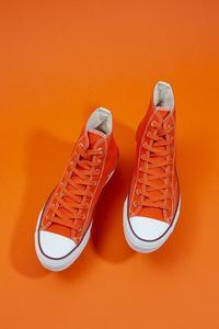 """Re: Der SAMMLER solo × TheThreeRobbers ARMY GYM SHOES HI ORANGE #7""ってこんなこと。 - THE THREE ROBBERS ってこんなこと。"