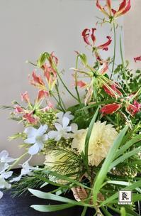 8月にお届けした「季節のお花便り」です - Bouquets_ryoko
