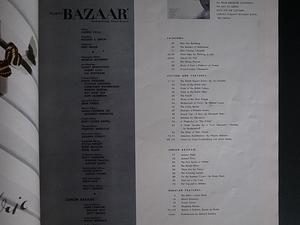 HARPER'S BAZAAR JULY 1948 / Cover photo by Richard Avedon -