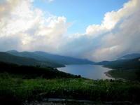 野反湖 * 天空の湖はすっかり秋の風情♪ - ぴきょログ~軽井沢でぐーたら生活~