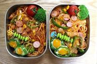 ナポリタン弁当と前田食堂と筋トレ - オヤコベントウ