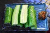 『もろきゅう/アボトマ/にら玉/厚揚げキムチチーズ』 - GARAGE BAR GOOSE 雑貨屋社長のブログ