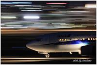 ふたたび飛行機夜景 - 今日のいちまい