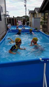 プール遊び - どんぐり山学童クラブ
