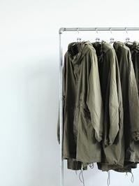 50's US ARMY SNOW PARKADEAD STOCK / WHITE → OVER DYED / OLIVE+ POCKET , REPAIR CUFF - 『Bumpkins putting on airs』