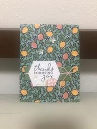 夏のご挨拶カード…柑橘系① - 胡桃っ子の家