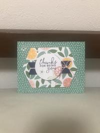 夏のご挨拶カード…柑橘系② - 胡桃っ子の家