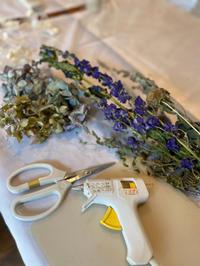 8月の1dayレッスン - driedflower arrangement ✦︎ botanical accessory ✦︎ yukonanai ✦︎