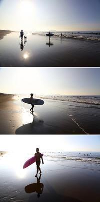 2020/08/29(SAT) 残暑が厳しい朝ですが、海では笑顔に会えました。 - SURF RESEARCH