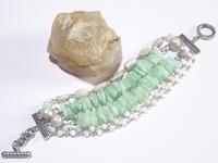 グリーンフェルスパーのブレスレット - Iris Accessories Blog