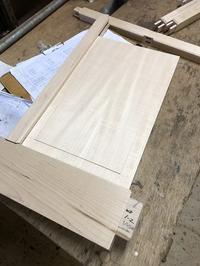 メープル材で作る建具 - スタジオ紡