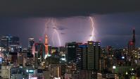今夜の雷 - 千種観測所