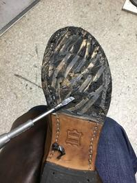 【RED WING】ベックマンブーツの加水分解 - Shoe Care & Shoe Order 「FANS.浅草本店」M.Mowbray Shop