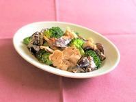 ブロッコリーと豚肉のマヨマスタードYoutubeにアップしました~♪ - 料理研究家 島本 薫の日常