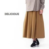 DELICIOUS [デリシャス] Tucked Skirt [DSK0563] タックスカート・ミディアム丈・LADY'S (STUDIOORIBE/スタジオオリベ) - refalt blog