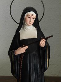 カッシアの聖リタ像 35cm /H217 - Glicinia 古道具店