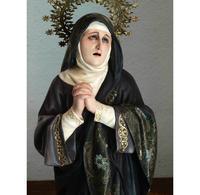 悲しみの聖母マリア像 50.5cm /H151 - Glicinia 古道具店