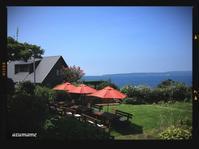 海が見える人気のパン屋さんのカフェ《佐度2日目》 - キルトとステッチ時々にゃんこ