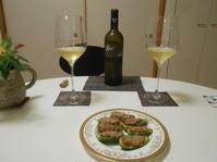 ピー鴨と鮎でフランスバスクの白ワイン。 - のび丸亭の「奥様ごはんですよ」日本ワインと日々の料理