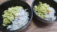 二色丼とマグロのカマの塩焼き - 白い羽☆彡の静岡県東部情報発信・・・PiPiPi♪
