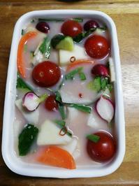 万能浅漬けの素を使った水キムチ - 好食好日