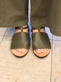 サンダル2020晩夏 - 手づくり靴 仄仄工房(ホノボノコウボウ)