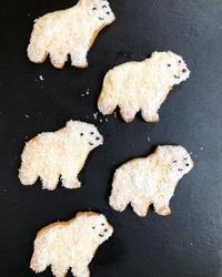 白くまクッキー - 調布の小さな手作りお菓子教室 アトリエタルトタタン
