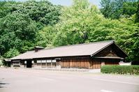旧国道36号線と島松駅逓所と島松沢橋 - 照片画廊