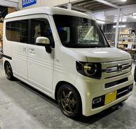 N-VAN ボルクレーシングte37 - 静岡県静岡市カーオーディオ専門店のブログ