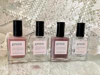 「manucurist green」の自然派ネイルカラー☆ - ドイツより、素敵なものに囲まれて②