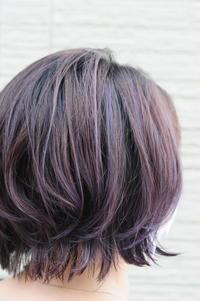 パープル - blanc.hair  髪とコネタ