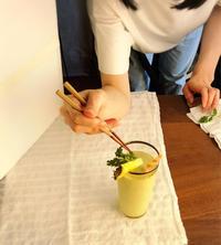 わかさ11月号の撮影は、週替わりスムージー - Coucou a table!      クク アターブル!