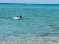 初日は八丁浜で海水浴 - Emptynest