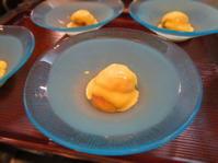 無花果の黄身クリーム - 手料理 西天満いがらしの「楽しい味」