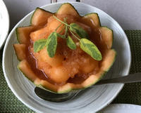 メロンとポートワイン&鴨とオレンジソース - やせっぽちソプラノのキッチン2