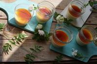 プリンと焼き菓子 - mille fleur の花とおやつ