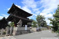 夏空の下 清凉寺 - はんなり京都暮らし