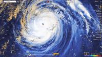 大型で非常に強い勢力の台風10号 - 夢か現か幻か・・・