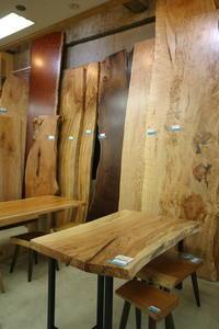 好評開催!テーブルご成約でスチール脚プレゼントキャンペーン! - 一枚板テーブル、無垢材家具 原木家具の祭り屋
