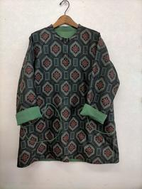 大島紬と色無地のリバーシブルコート - warmheart*洋服のサイズ直し・リフォーム*