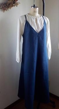 キャミドレスとウールライクなワイドパンツ - yunoのアトリエ