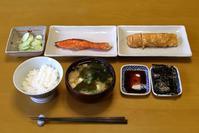 和定食な朝餉 - ぶん屋の抽斗