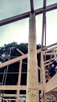 コートハウスの家が上棟しました。 - 暮らしと心地いい住まい