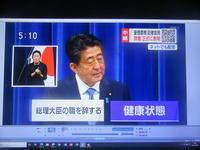 安倍首相正式退陣表明on2020-8-28第2次安倍政権の歩み - 散策とグルメの記録