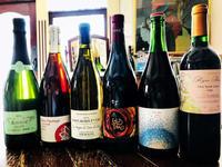 焼鳥谷口にて高坂鶏にセレクトさせていただいたワイン達。 - Nadja*  bar a vin.