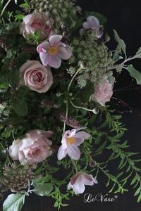 9月のレッスン始まりました♪ - Le vase*  diary 横浜元町の花教室