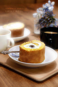栗のロールケーキと鯛の昆布締め - KICHI,KITCHEN 2