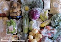週1あらため3週間に1回の食材まとめ買いと献立(2-17) - Kyoko's Backyard ~アメリカで田舎暮らし~